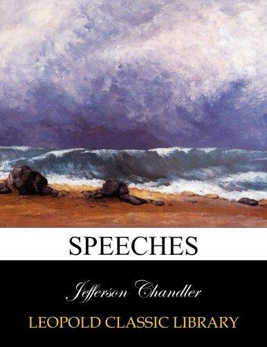 Speeches por Jefferson Chandler