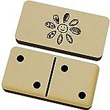 Azeeda 'Patchwork Blume' Domino-Spiel und Box (DM00001129)