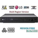 Dynastar LG BP165 Region Blu-ray Player