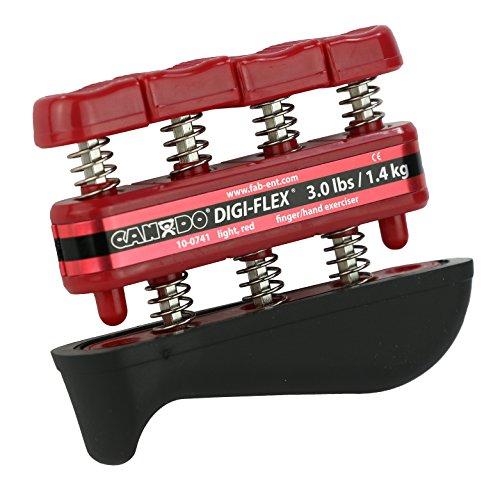environ 1.36 kg Cando Digi-Flex Main Et Doigt exercice système rouge résistance 3 Lb