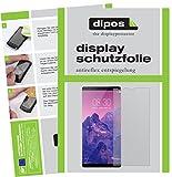 dipos I 6X Schutzfolie matt passend für ZTE Nubia Z17S Folie Bildschirmschutzfolie