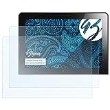 Bruni Schutzfolie für Lenovo ThinkPad 10 Folie, glasklare Bildschirmschutzfolie (2X)