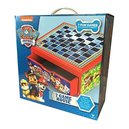 Unbekannt Cardinal Games 6039892 Paw Patrol 7 Spielhaus, Mehrfarbig
