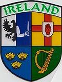 Ireland Irish Connaught Leinster Munster e Ulster in vinile auto adesivo per finestra Bandiera