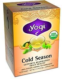 Yogi Cold Season Tea (3x16 Bag)