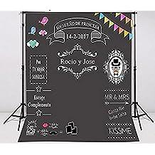 7x7ft foto de bodas DIY photocall bodas fondo fotografia lv-1002