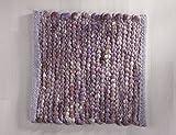 Tisca GRÖNLAND SKY handgewebter handweb teppich für das Wohnzimmer, Esszimmer, Schlafzimmer und Küche geeignet (Muster, 270 flieder)
