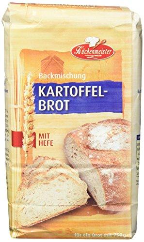 Bielmeier-Küchenmeister Brotbackmischung Kartoffelbrot, 15er Pack( 15 x 500g)