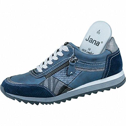 Jana , Baskets pour femme Bleu