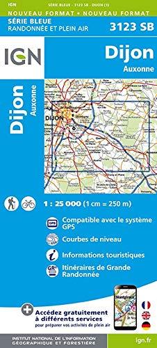 Dijon Est. Auxonne 1:25 000