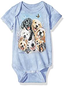 DOGS SELFIE TODDLER T-SHIRT THE MOUNTAIN