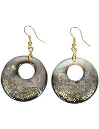 Prospervei Retro Alloy Plush Geometric Earrings Acrylic Irregular Women Drop Earrings 6mvn9