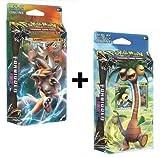 Pokémon Sun & Moon: Forbidden Light Theme Cards Decks Twin Pack (Exeggutor & Lycanroc) [UK IMPORT]