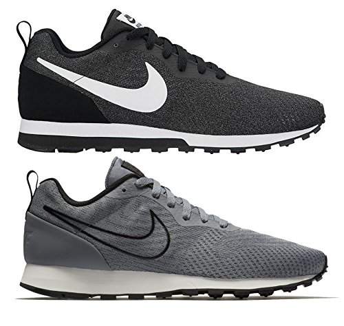 Nike MD Runner 2 ENG Mesh, Scarpe da Ginnastica Uomo Grigio (Gunsmokeblackvapste Greywhite 003)