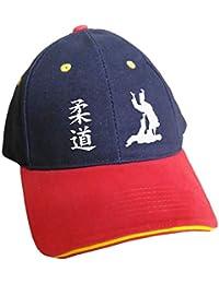 Kdomania - Casquette Judo bleue visière rouge