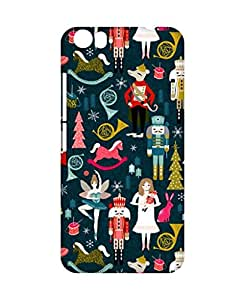 Crackndeal Back Cover for Micromax Canvas Fire 4 A107