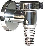 Sifon Abfluss Abwasser Waschgeräte Ablaufgarnitur Siphon Waschmaschine 32 mm Chrome