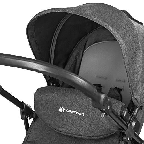 Kinderkraft Moov Poussette Multifonctionnelle 3en1 Noir image12
