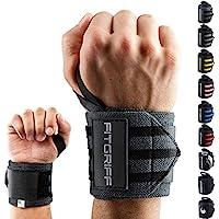 Fitgriff Handgelenk Bandagen [Wrist Wraps] 45 cm Handgelenkbandage für Fitness, Bodybuilding, Kraftsport & Crossfit... preisvergleich bei billige-tabletten.eu