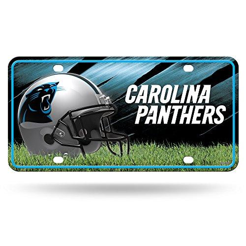 Preisvergleich Produktbild Unbekannt NFL Carolina Panthers Metall Auto Tag