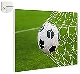 b-wie-bilder Magnettafel Pinnwand Magnetwand Fussball Tor Größe 60 x 40 cm