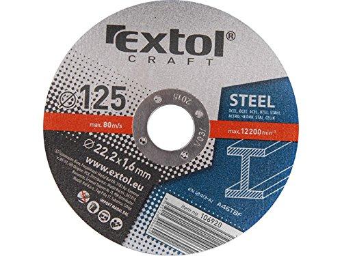Extol Craft Trennscheiben für Metalle, 5 Stück, 106920