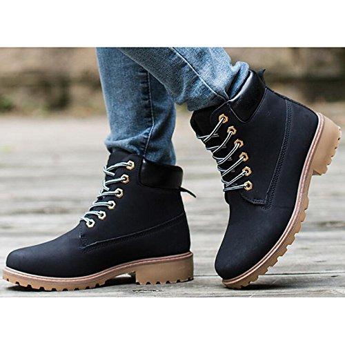 ... Chaussures Hsxz Femme Pu Automne Hiver Confort Combat Bottes Chunky  Talon Bottes / Bottillons Vêtements Décontractés ...