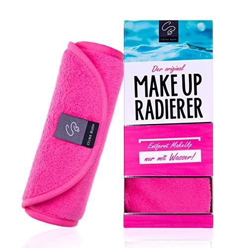 Der original MakeUp Radierer | Microfaser Abschminktuch | Gesichtsreinigungstuch | Sensible Haut | Abschminken und Reinigen nur mit Wasser, ohne Chemie | Abschminktücher | Gesichtsreinigungstücher | Mikrofaser Make-Up Entferner | (Make Entferner Up)