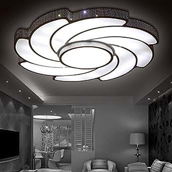 led deckenleuchten schmiedeeisen acryl ein schlafzimmer ein wohnzimmer eine moderne. Black Bedroom Furniture Sets. Home Design Ideas