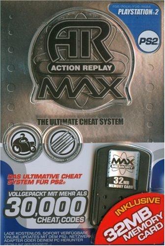 Playstation 2 - Action Replay MAX + 32MB Memory Card