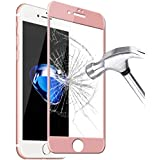 Tempered Glass 9H Full Cover Screen Protector For iPhone 7 Plus - Rose Gold