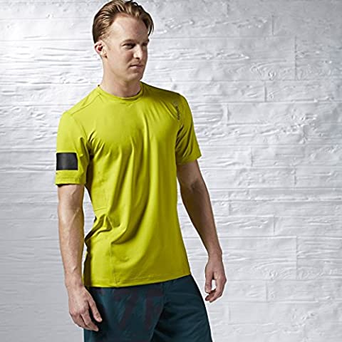Reebok OS Advantage Stretch a maniche corte da uomo Top