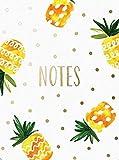 Pocket Notes: Pineapple – Notizblock im praktischen Taschenformat: Ananas: Unser handlicher Notizblock mit magnetischem Verschluss (Notizblock im Taschenformat)
