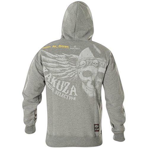 Yakuza Premium Hoody YPH-2423 Hellgrau Grau