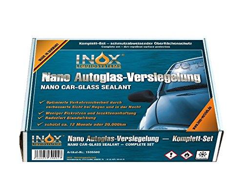 Preisvergleich Produktbild INOX Nano Glasversiegelungs-Set - Schmutzabweisender Oberflächenschutz