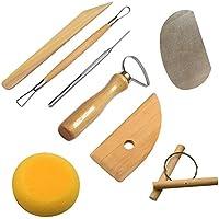 Cozyswan Di alta qualità utile RSET-POT1 Pottery completo Set di attrezzi di 8 pezzi