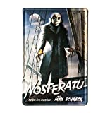 Blechschild Retro Kino - Blechschild Vintage Nosferatu - Vampir