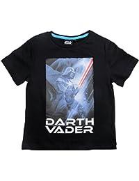 Star Wars T-Shirt Kollektion 2016 Shirt 104 110 116 122 128 134 140 146 Jungen Neu Schwarz