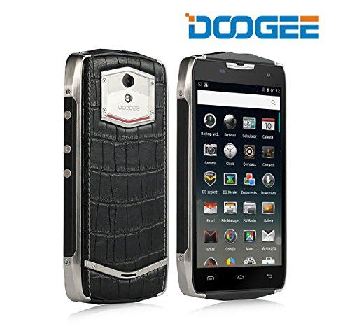 Rugged Smartphone Android, DOOGEE T5 Lite Dual SIM IP67 Robusto Cellulari - 4500mAh Impermeabile Telefono con 5MP + 8 MP Fotocameras Digitale - 2 Go de RAM + ROM de 16 Go Tough Mobile - Doppi Copri Posteriori