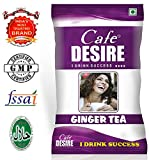 Certified Cafe Desire Instant Tea Premix (Ginger Tea) for Vending Machine - 1 kg