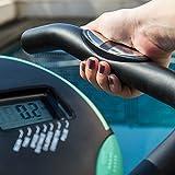 Faltbares X-Bike Heimtrainer Fitnessfahrrad mit Herzfrequenz-Monitor und LCD-Bildschirm   Das perfekte Trainingsgerät für ein effektives Ganzkörper-Workout zu Hause - 6