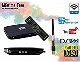 STC HD MPEG 4 Digital WiFi Set Top Box With 1 Year Warranty + Unlimited Recording (LIFE TIME FREE) Free To Air H-700