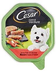 Cesar Paté con Manzo e Cuore di Verdure per Cani Adulti - 150 gr