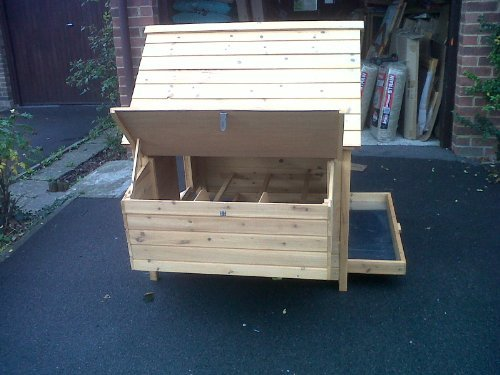 CHICKEN Haus für 6 Hennen. auch für Enten ! reizende Art und leicht zu reinigen ! Schnelle versand! - 5