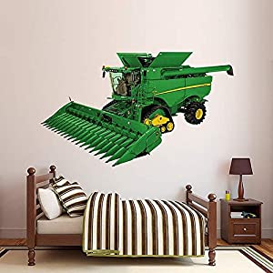 John Deere S690 Combine Real Big FatHead Decal Wall Sticker 68 Part 50