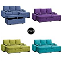 Sofas chaise longue 3 4 plazas salon sofa chaiselongue cheslong comedor ref-04