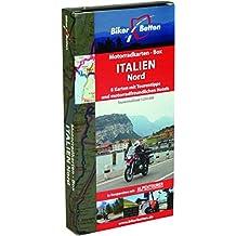 Motorradkarten Box Italien Nord