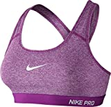 Nike Nike Pro Classic Padded Bra - cosmic purple/htr/cosmic purpl, Größe:XL
