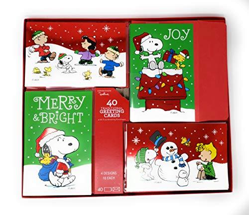 anuts Gang Weihnachtskarten, mit passenden Umschlägen, 40 Stück ()