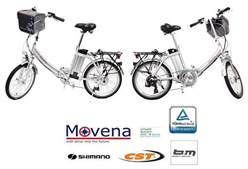 2-x-TV-geprftes-und-zertifiziertes-Elektrofahrrad-36V-15AH-Akku-20-Zoll-Pedelec-Faltrad-Farbe-Silber-36V-15AH-AKKU-150-KM-REICHWEITE-TOP-Kundenservice